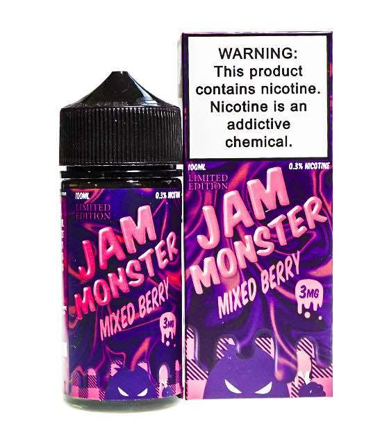 Jam Monster: Жидкость Mixed Berry LE