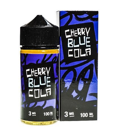 Juice Man: Жидкость Cherry Blue Cola