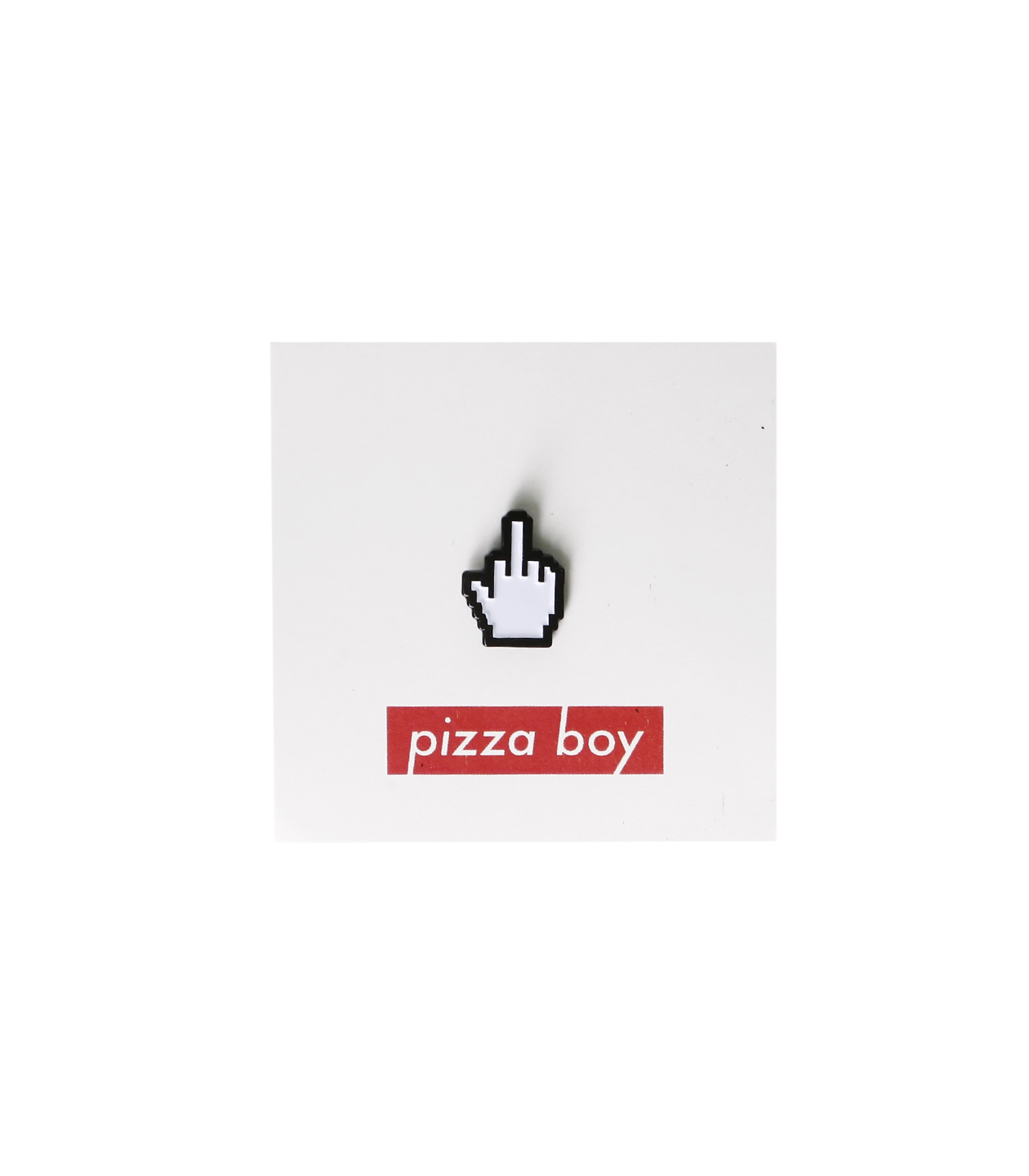 Pizza Boy: Значок FUCK