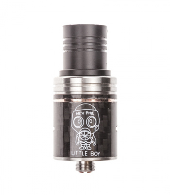 Clone: Дрипка RDA Little Boy Carbon - фото - 1