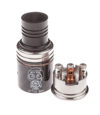 Clone: Дрипка RDA Little Boy Carbon - фото - 2