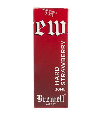 Brewell Vapory: Жидкость BREW #22 Hard Strawberry