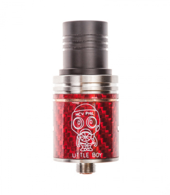 Clone: Дрипка RDA Little Boy Carbon - фото - 4